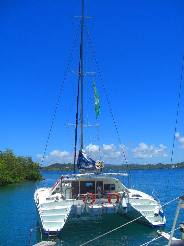Voyage en Martinique : vacances sur un voilier