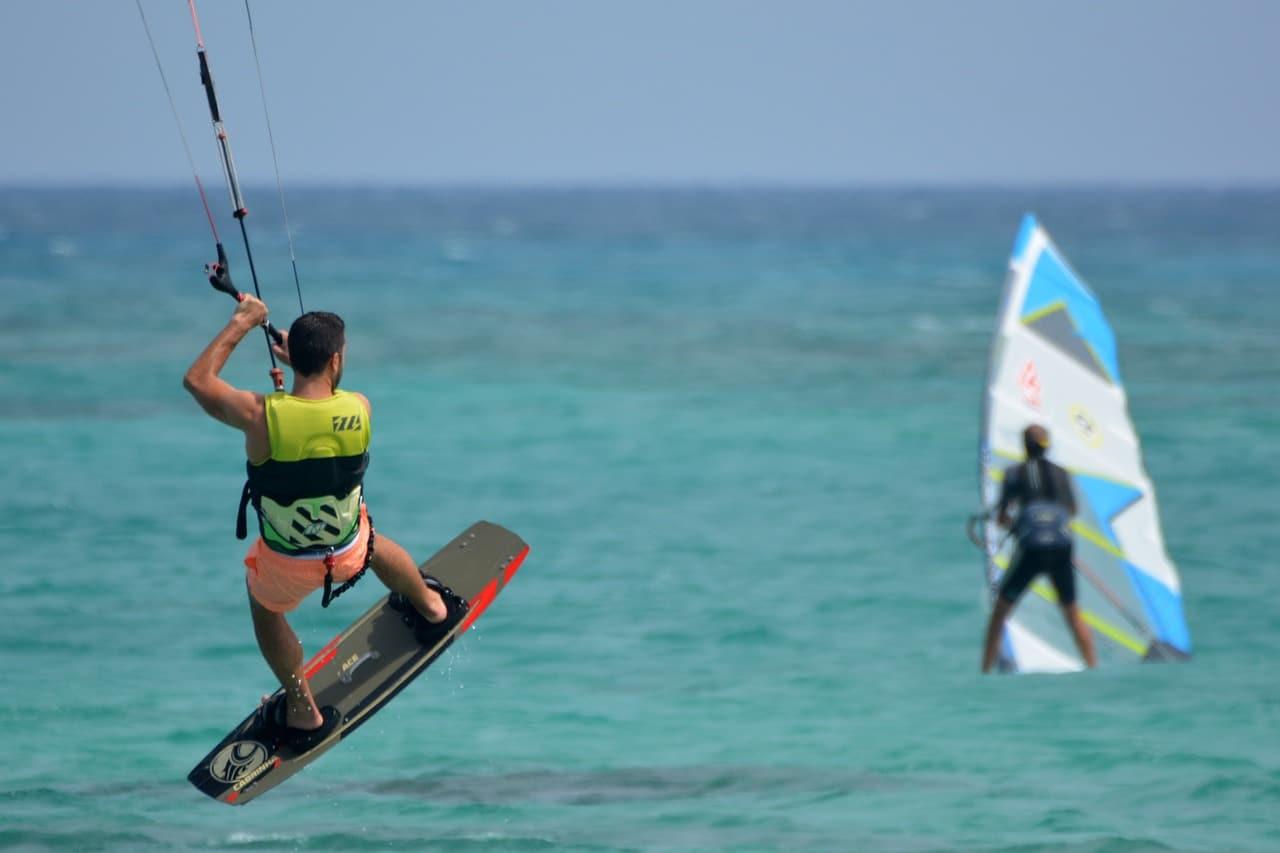 Windsurf en Martinique