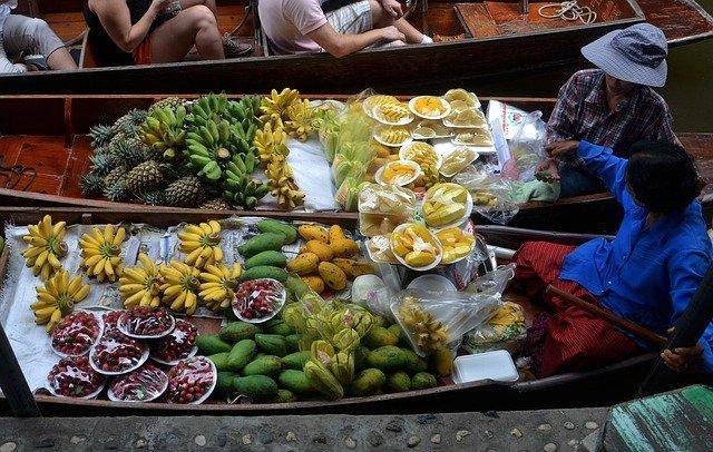 Fruits et légumes en Thailande