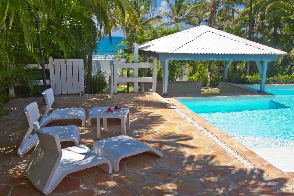 location à Saint-François (Guadeloupe, Caraïbes) : villa Bellissima