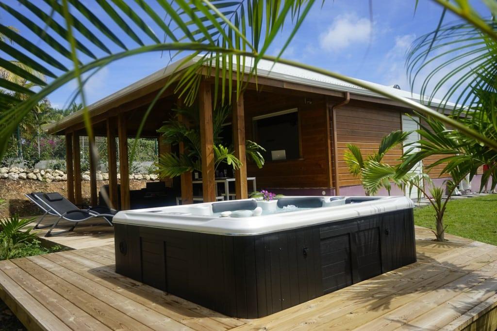 location à Saint-François (Guadeloupe, Caraïbes) : villa Palm Chang