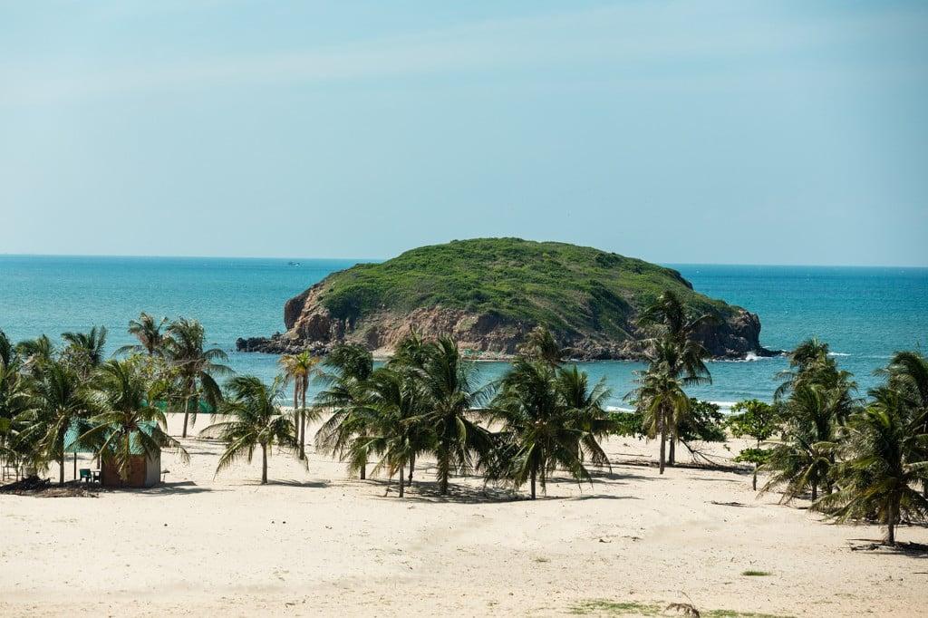 plage de Mui Ne - Phan Thiet - Vietnam (Asie)