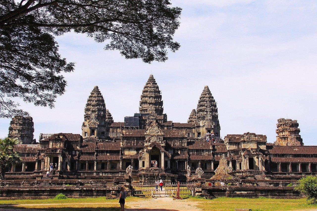 temple d'Angkor Wat au Cambodge (Asie)