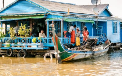 Voir les villages flottants à Siem Reap